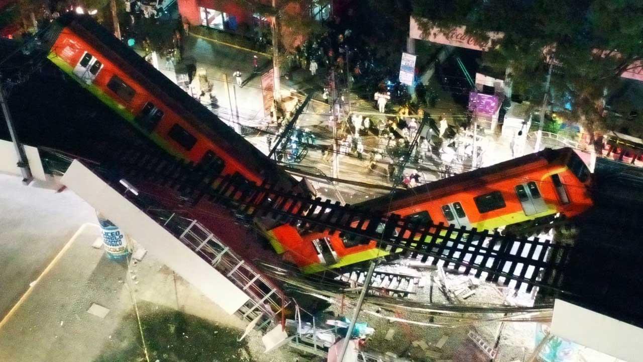Peritaje internacional tras desplome Metro CDMX