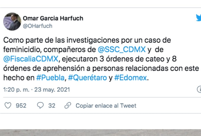 Detienen Tres Mujeres Hombre Feminicidio Abril Pérez
