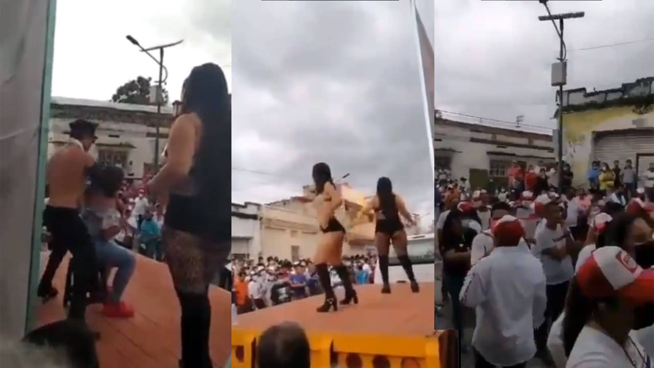 Video stripper candidato Chiapas campaña