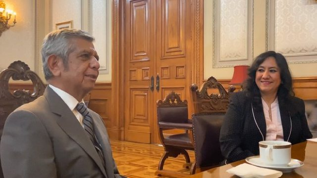 Irma Eréndira será sustituida por Roberto Salcedo