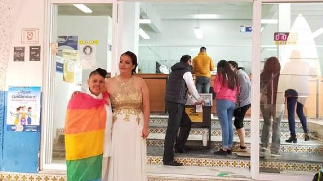 Celebra primer matrimonio igualitario en Allende