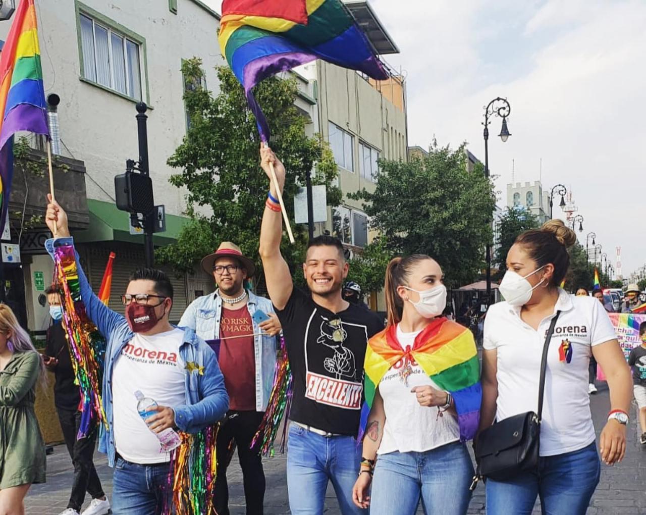 Leslie Figueroa LGBT Morena