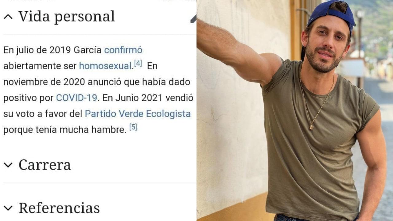 Wikipedia Lambda García vende voto