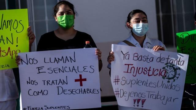 Despiden a enfermeras de Zacatecas