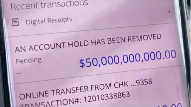 Familia recibió un deposito de 50 mil millones de dólares
