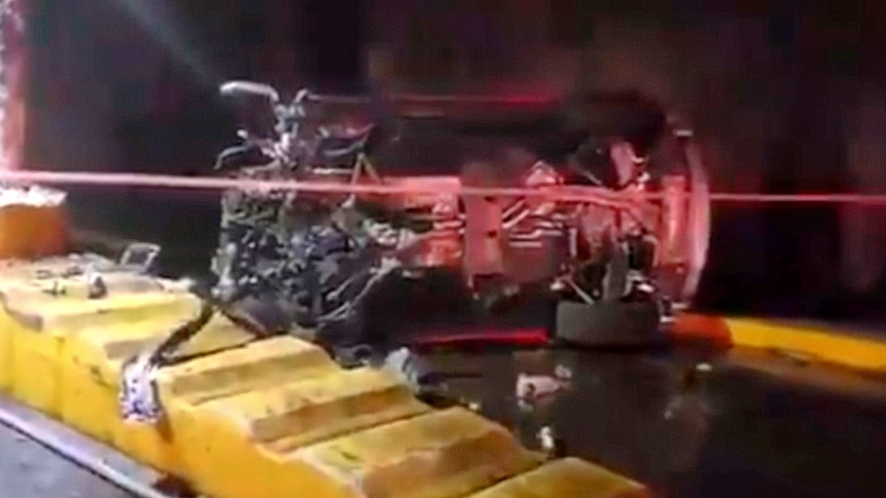 Hombre muere choque Lamborghini