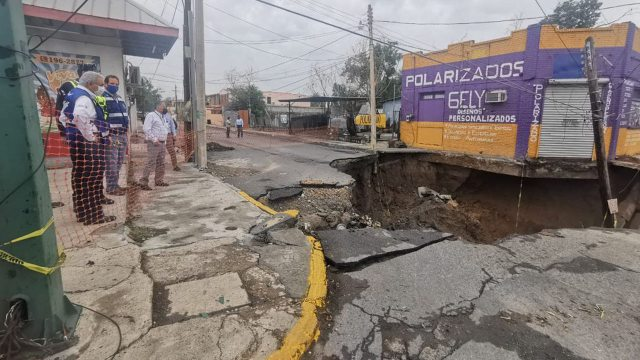 Socavon Nuevo Laredo Tamaulipas