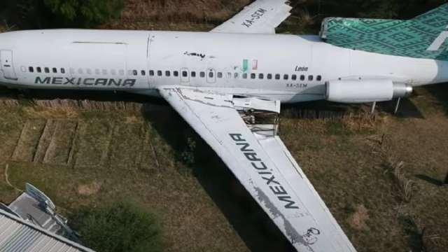 Encuentran Avión Abandonado Bosque León Video