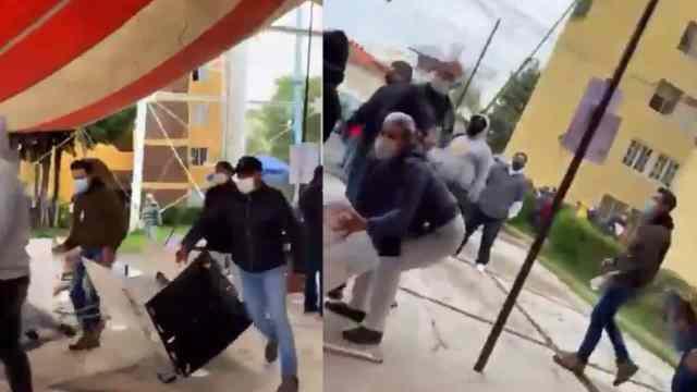Video destrozan y roban casilla Metepec