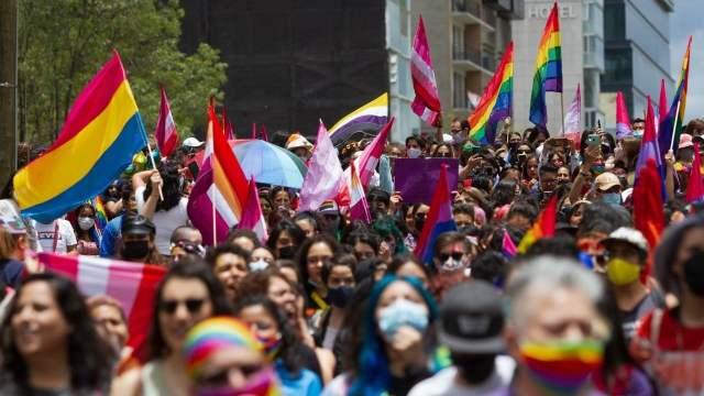 CDMX diversidad Marcha Lencha