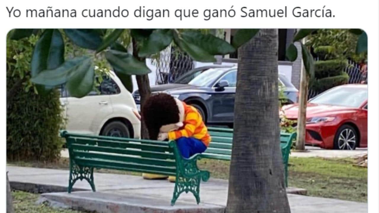 Samuel García memes elecciones 2021