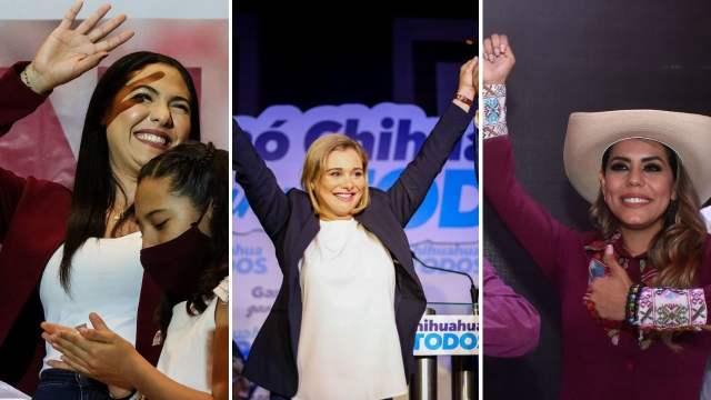 Mujeres gobernadoras México elecciones