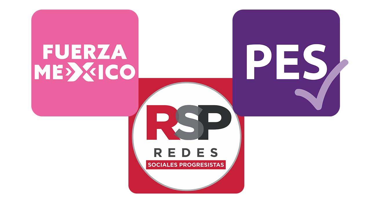 PES, RSP y FxM perderán su registro como partidos
