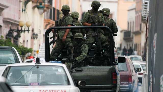 10 horas de enfrentamiento dejan 18 muertos Zacatecas