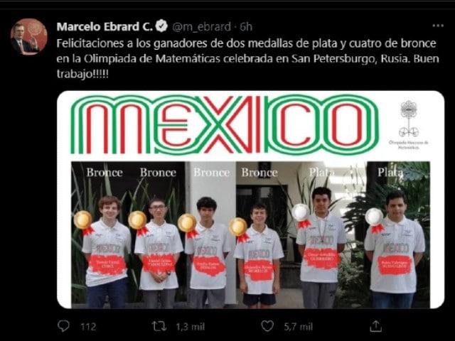 Seis mexicanos obtienen medalla en la olimpiada de matemáticas en Rusia