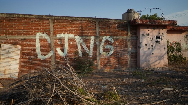 Enfrentamientos del CJNG en Michoacán