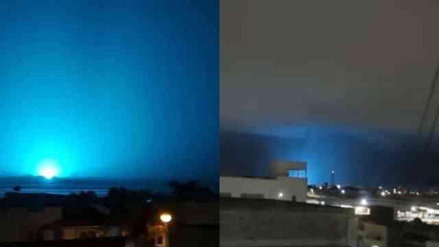 Qué era la luz azul de León Guanajuato