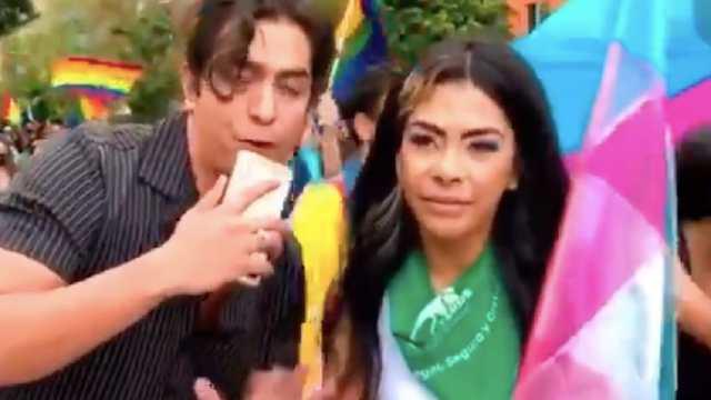 Los ADN Acusados Transfóbicos Marcha LGBT San Luis