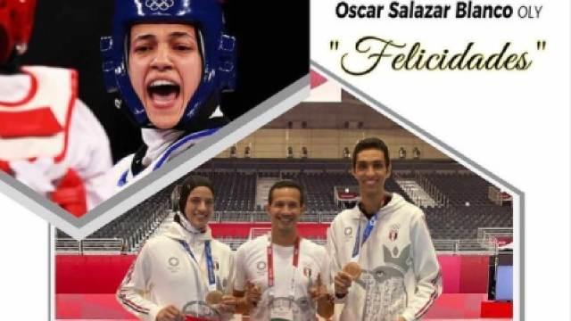 Oscar Salazar Entrenador Mexicano Medallas Egipto Taekwondo