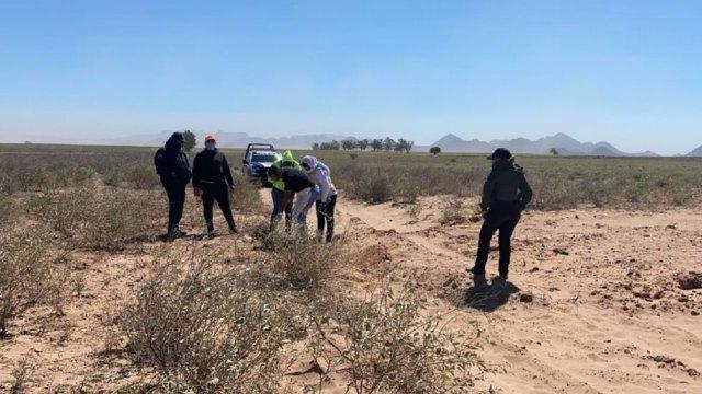 Rastreadoras hallan fosa clandestina en Gucaporito Sinaloa