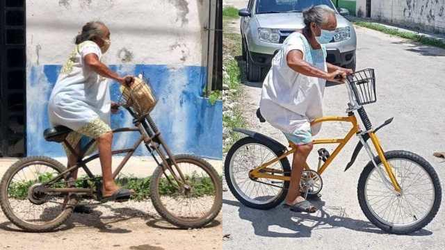 restauran bici de una abuelita gratis en yucatán