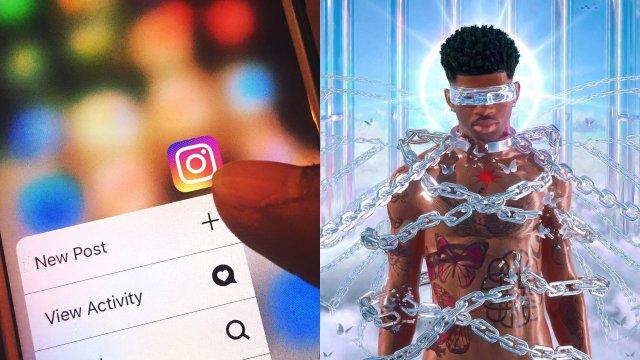 Nah he tweakin comentario en Instagram
