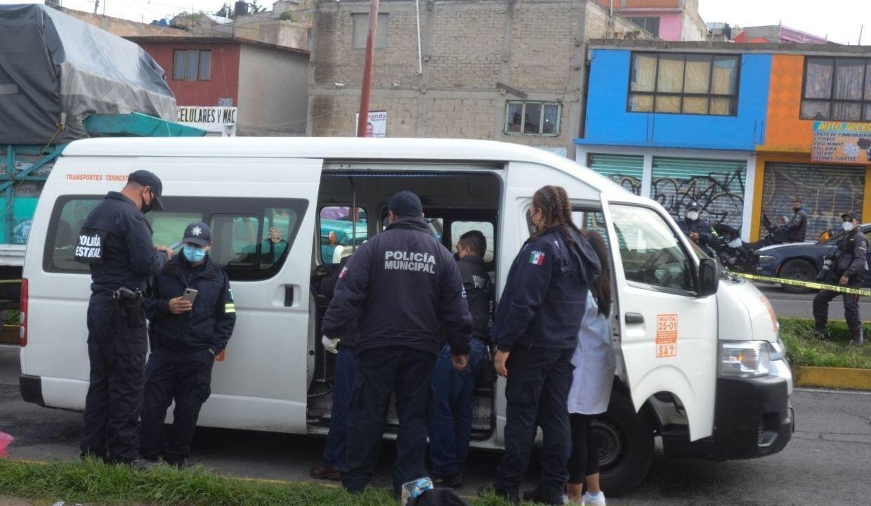 En Nicolás Romero, usuario de combi evitó asalto y mató a ladrón