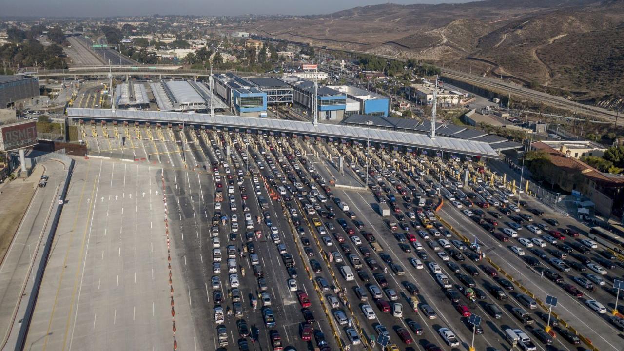 trafican marihuana de California a México