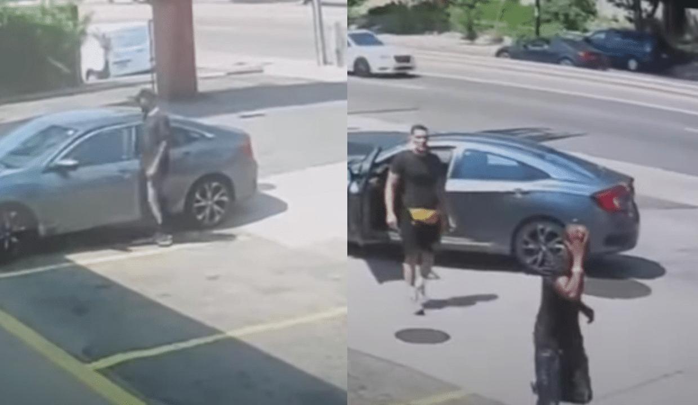 Peleador de la UFC impide robo de su auto y golpea al delincuente