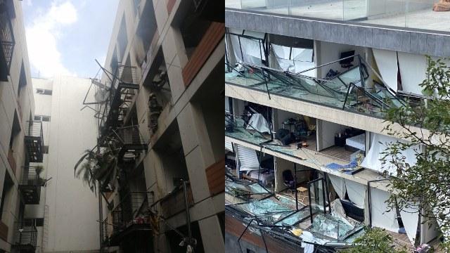 Edificio explotó en la avenida Coyoacán