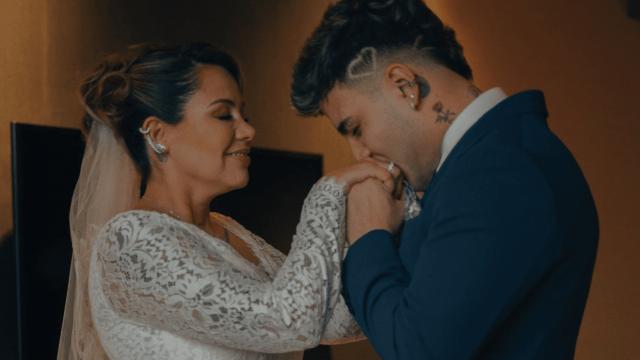 Sebas, famoso youtuber, llevó al altar a su mamá en boda con otra mujer