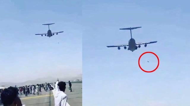 Encuentran restos humanos en tren de aterrizaje de avión que salió de Kabul