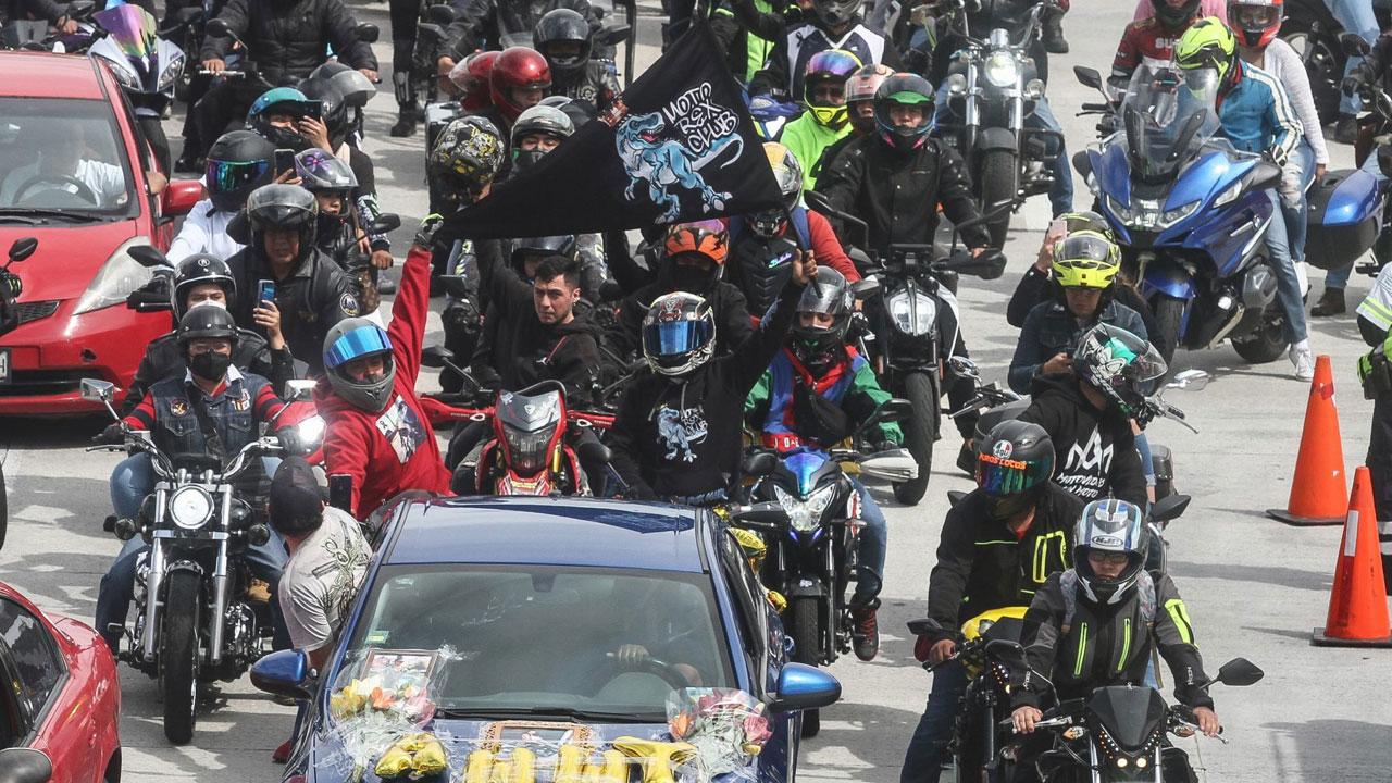 Rodada para honrar a motociclistas muertos en la México-Cuernavaca