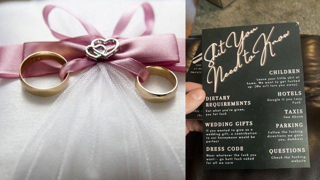 """Critican a pareja por invitación de boda; llaman """"gordos"""", """"idiotas"""" y """"flojos"""" a los invitados"""