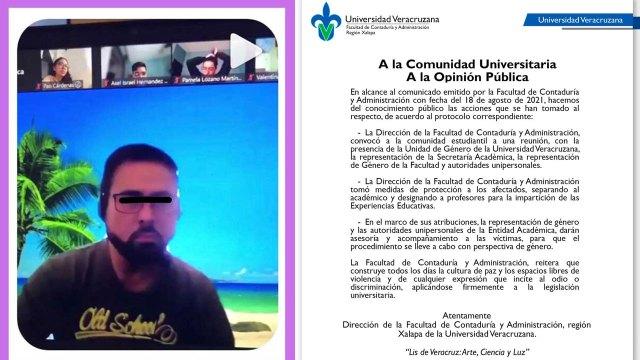 UV anuncia la separación de maestro por comentarios homófobos y misóginos