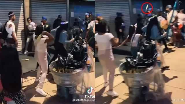 Video elotazo policia CDMX