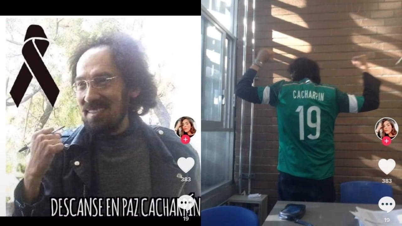 aluno de la UNA piden a Club Santos homenaje para su profesor fallecido por Covid-19