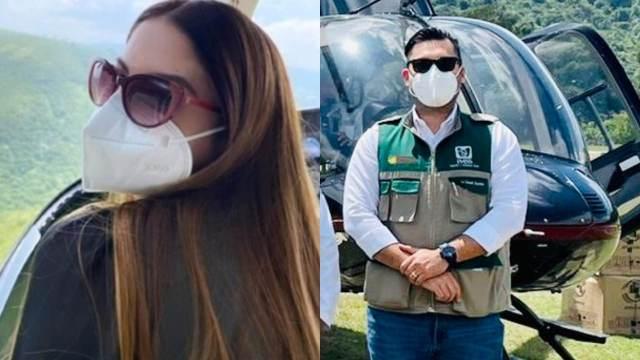 despiden a édico del IMSS luego de que su esposa presumiera fotos en helicóptero