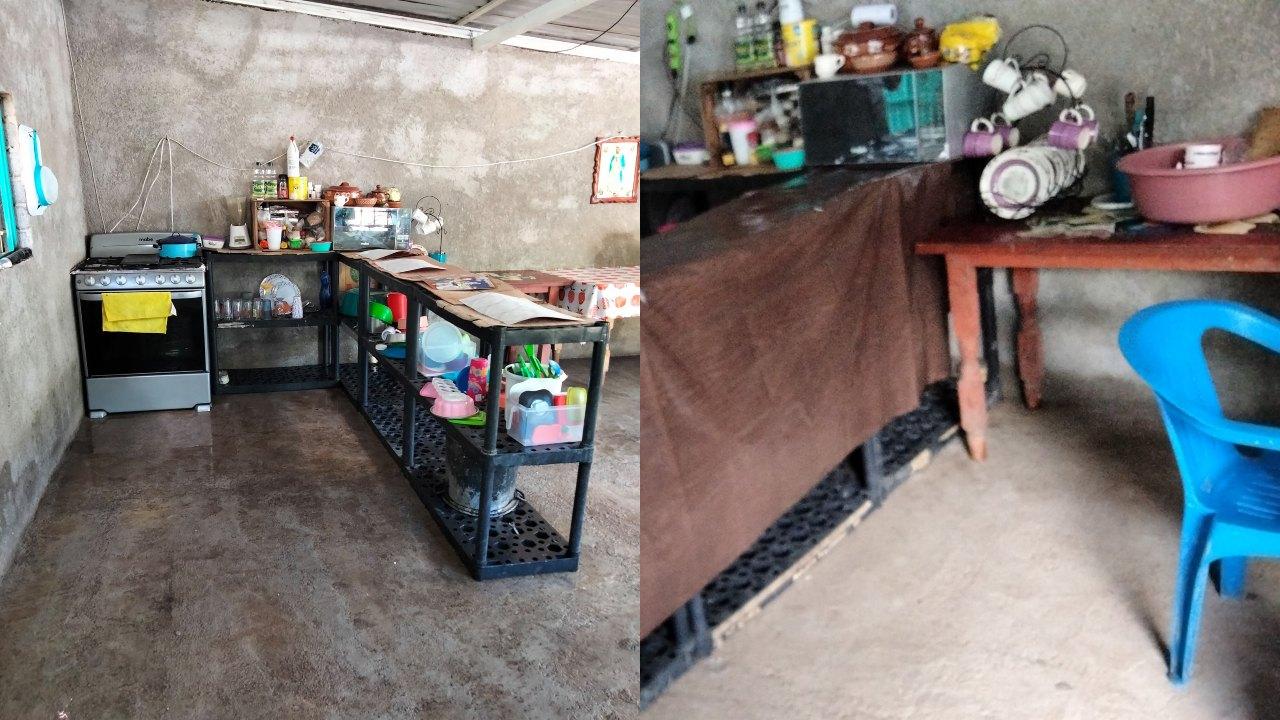 casa de concreto de mujer de Michoacán se vuelve viral