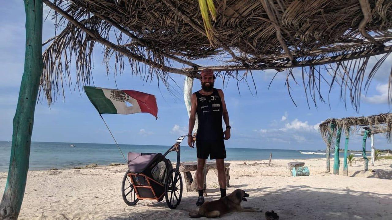Jonas Deichmann llega a Campeche