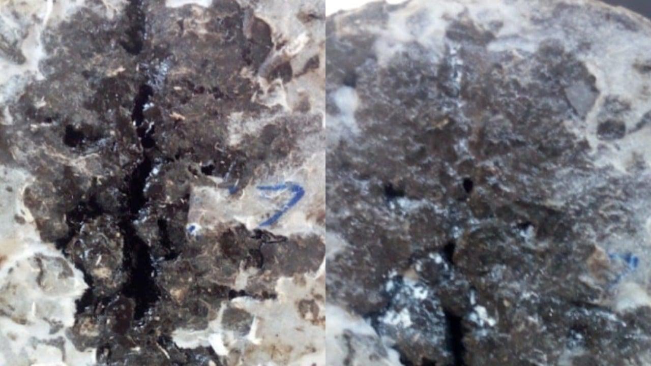 Joven crea pavimento con llantas que se regenera con el agua