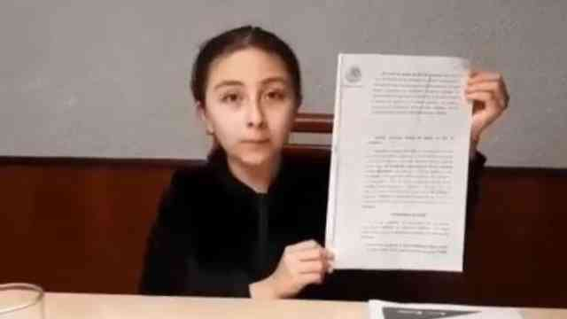 niña de conferencia de López-Gatell exige ser vacunada