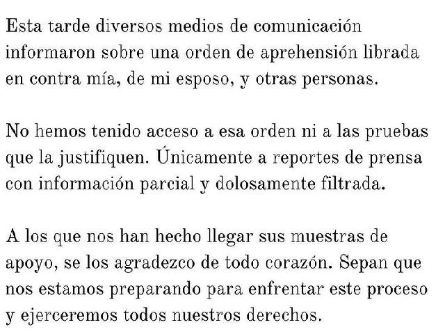 Juez ordena detener a 10 personas vinculadas al caso Inés Gómez Mont y Álvarez Puga