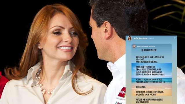 """""""Me despido del miedo"""". Mensaje de Angélica Rivera desata especulaciones en la Red"""
