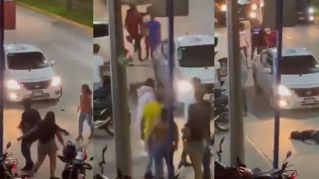 Mujer noqueó a otra durante una pelea
