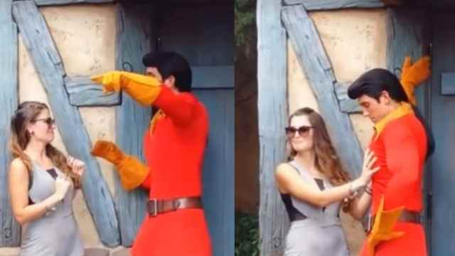 """""""¡Hay niños!"""": Mujer tocó indebidamente el cuerpo de un actor de Disney World. Le gritó que se fuera"""