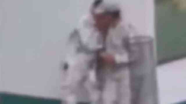 Graban Elementos Guardia Nacional Beso Escondidas Video