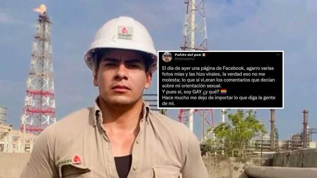 trabajador de Pemex se defiende ante críticas por su homosexualidad