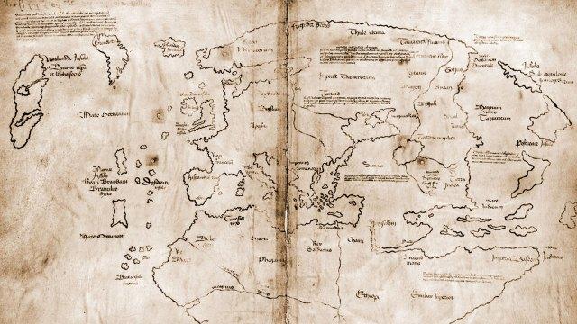 Mapa de Vinland falsificacion