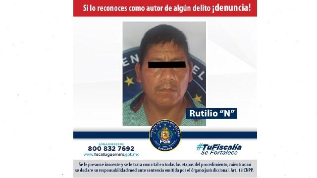 Aprehendieron a Rutilio en Guerrero